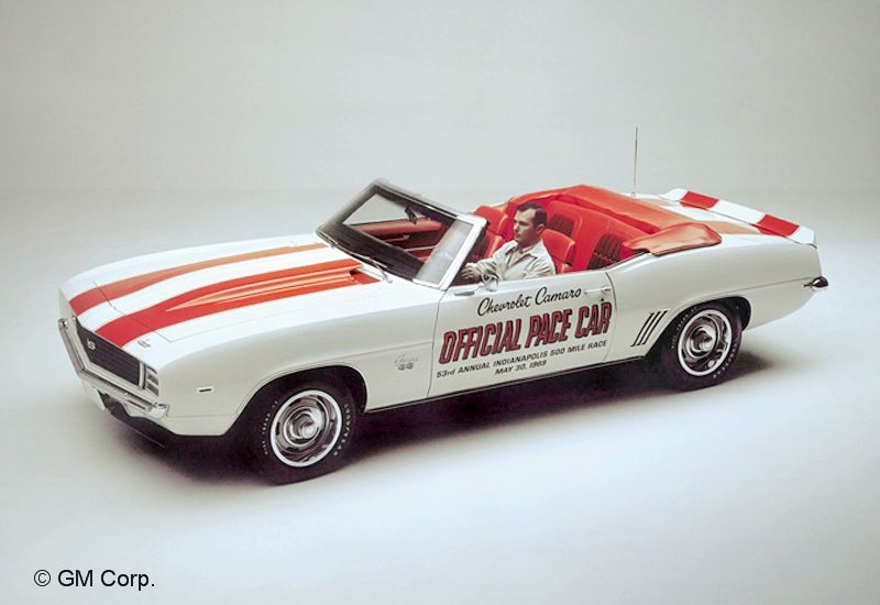 1969Chevrolet Camaro Pace Car