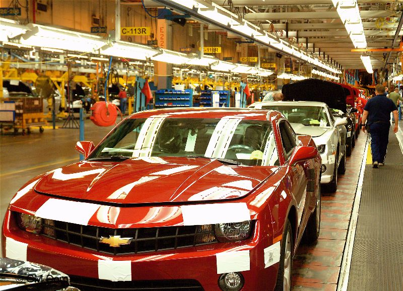 2010 Camaro Production3